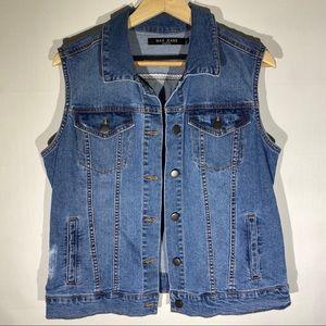 Max Jeans Woman's Denim Vest Size L